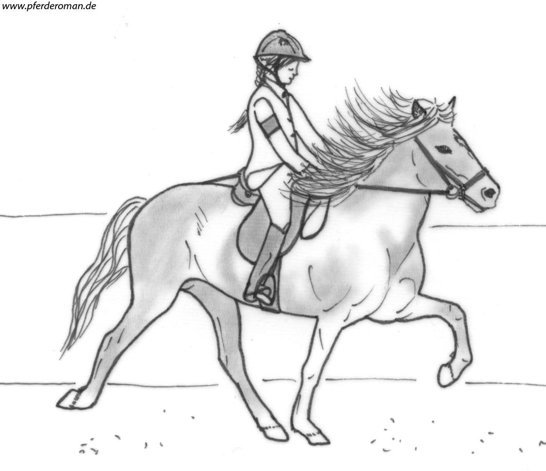 Kostenloste Pferdebilder zum Ausmalen